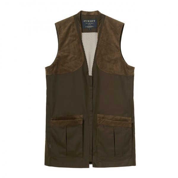 James Purdey Summer Sporting Vest Dark Green