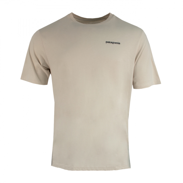 Patagonia Fitz Roy Saltwater Organic T-Shirt Pumice w/Fitz Roy Tarpon