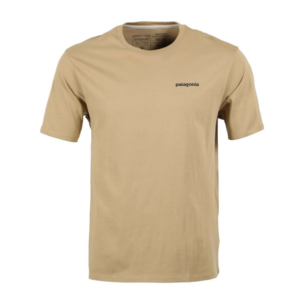 Patagonia P-6 Logo Organic T-Shirt Classic Tan
