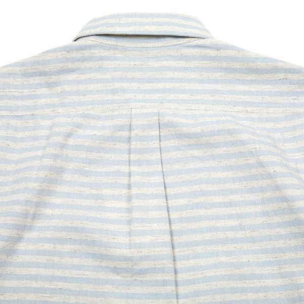 Portuguese Flannel Plage ESP LS Shirt White / Blue