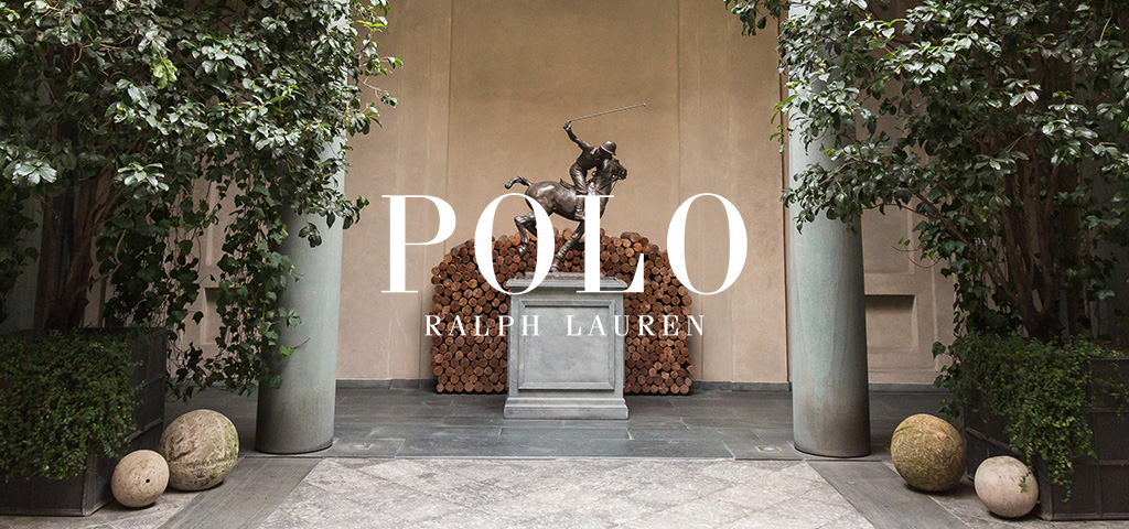 Galloping Horse and Rider Polo Ralph Lauren