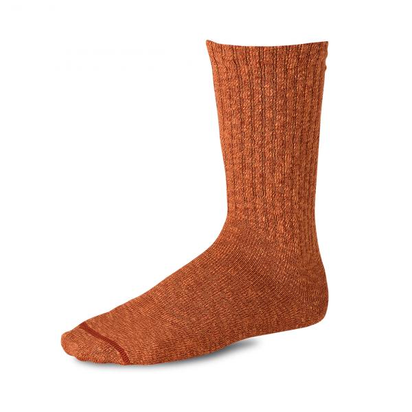 Red Wing Cotton Ragg Socks Rust / Burgundy