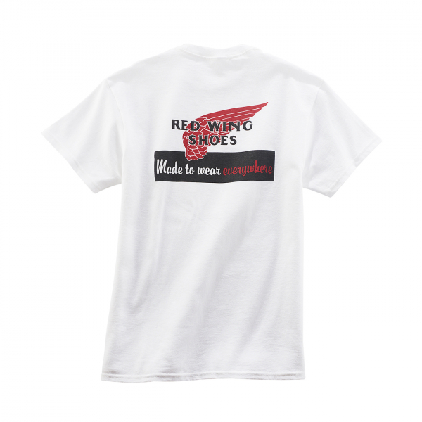 Red Wing Heritage Logo T-Shirt White