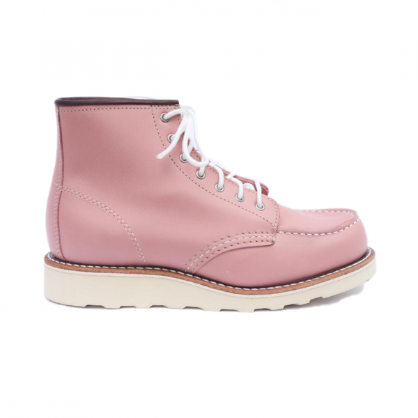 "Red Wing Womens 6"" Classic Moc Boundary Rose"