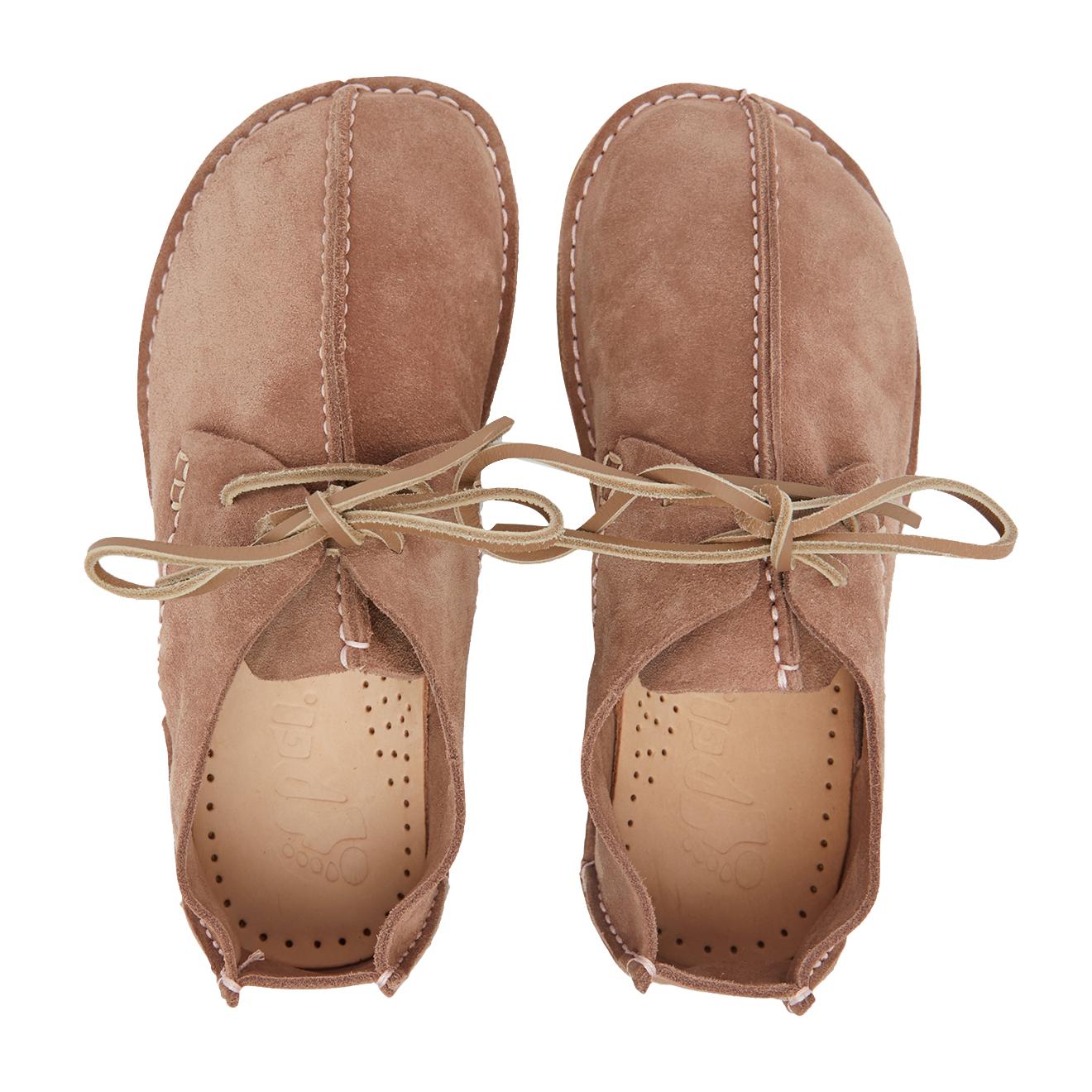 Yogi Womens Caden Suede Shoe Pink | The