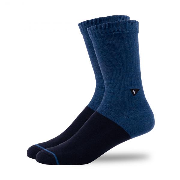 Arvin Goods Casual Socks Blue Heather