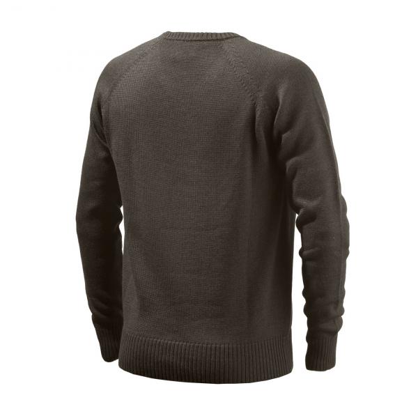 Beretta Classic V-Neck Sweater Brown