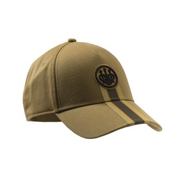 Beretta Corporate Striped Cap Tan