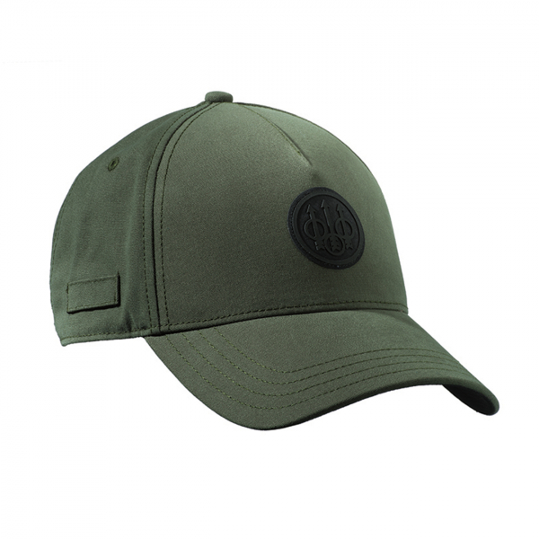 Beretta Rubber Patch Logo Cap Green