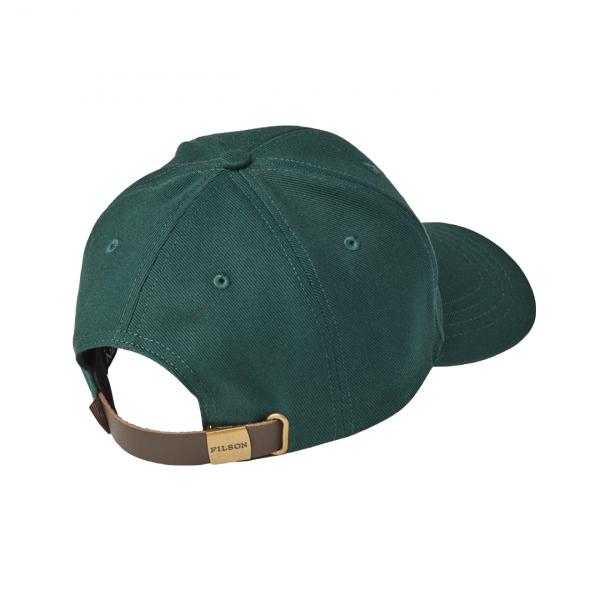 Filson Denim Logger Cap Hunter Green