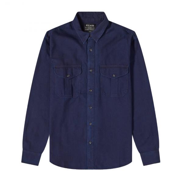 Filson Lightweight Alaskan Guide Shirt Indigo