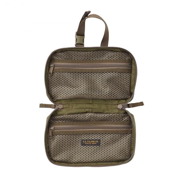 Filson Ripstop Nylon Travel Pack Surplus Green