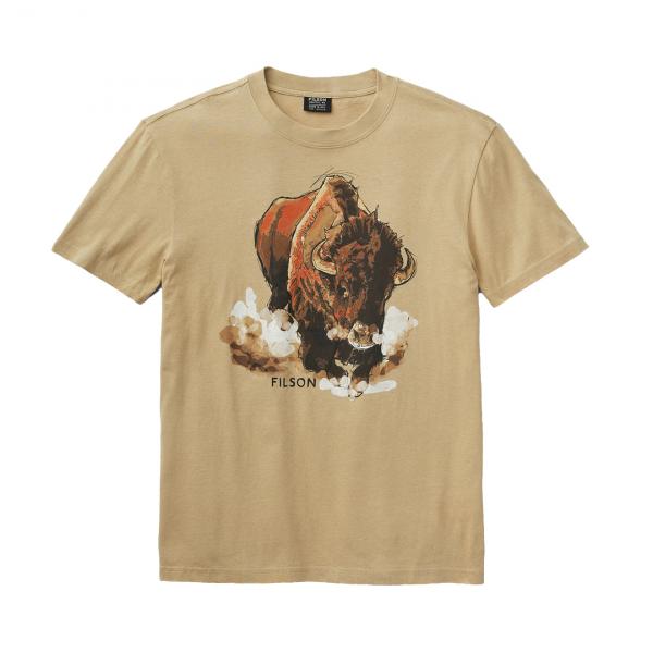 Filson S/S Lightweight Outfitter T-Shirt Khaki