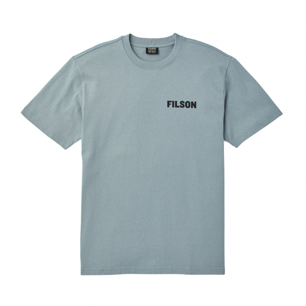 Filson S/S Outfitter Graphic T-Shirt Sage Gray