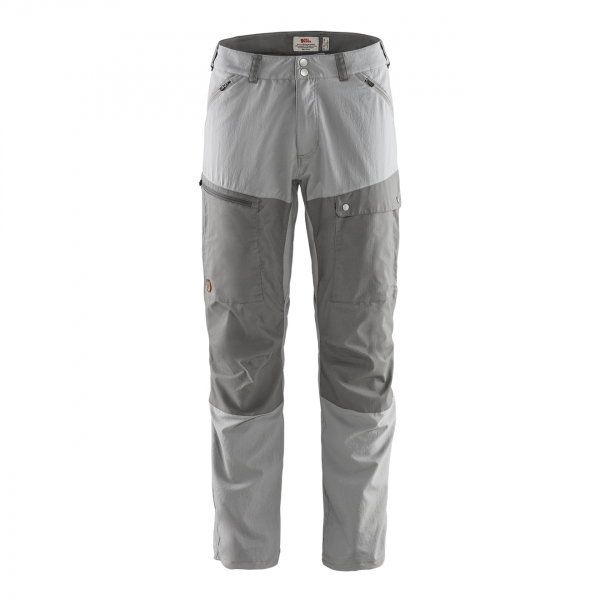 Fjallraven Abisko Midsummer Trousers Regular Leg Shark Grey / Super Grey