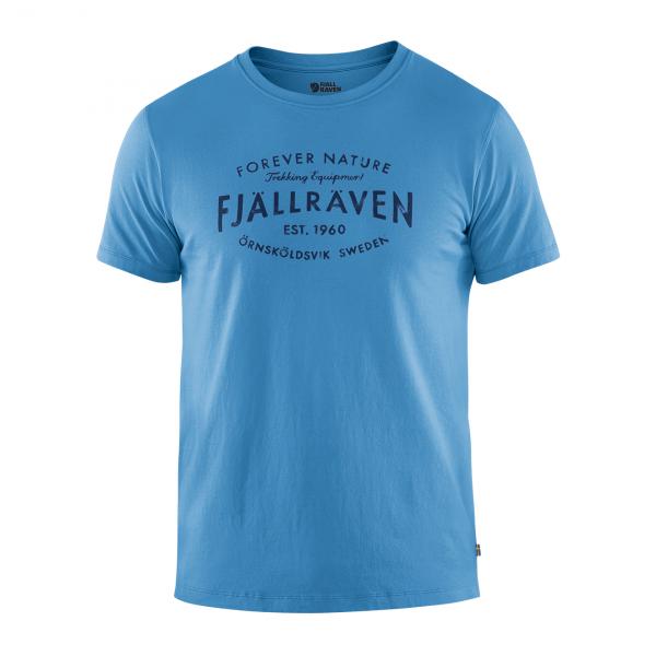 Fjallraven Est 1960 T-Shirt River Blue