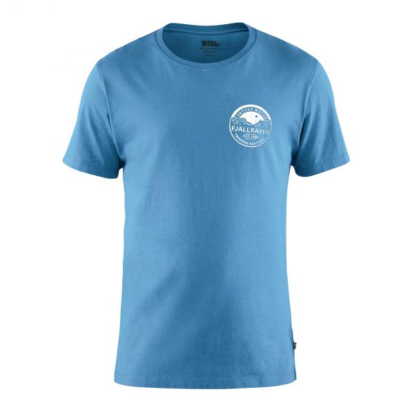 Fjallraven Forever Nature Badge T-Shirt River Blue