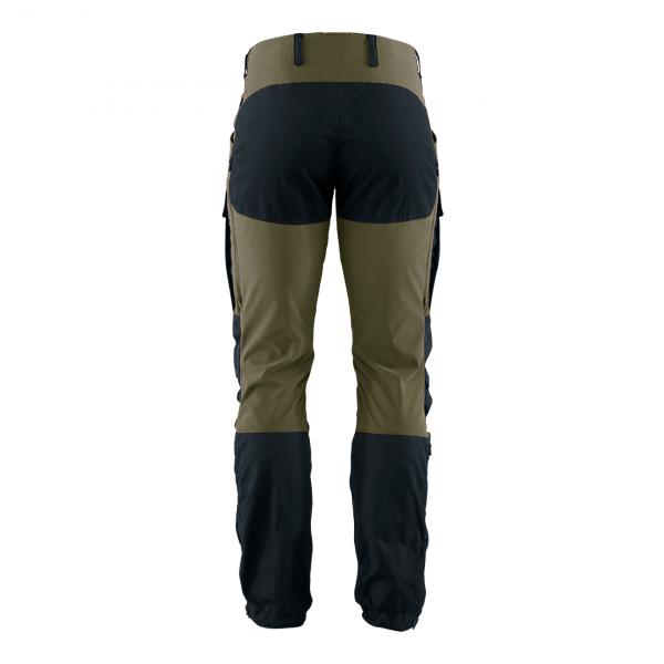 Fjallraven Keb Trousers Regular Dark Navy / Light Olive