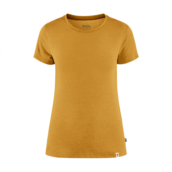 Fjallraven Womens High Coast Lite T-Shirt Ochre