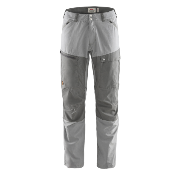 Fjallraven Abisko Midsummer Trousers Regular Leg Shark Grey / Super Grey