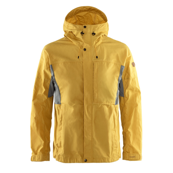 Fjallraven Kaipak Jacket Ochre / Super Grey