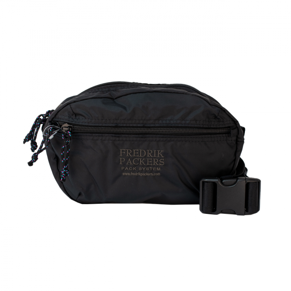 Fredrik Packers Ellipse Hip Pack Black