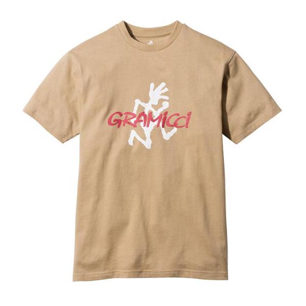 Gramicci Logo T-Shirt Beige
