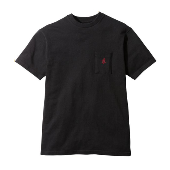Gramicci One Point T-Shirt Black