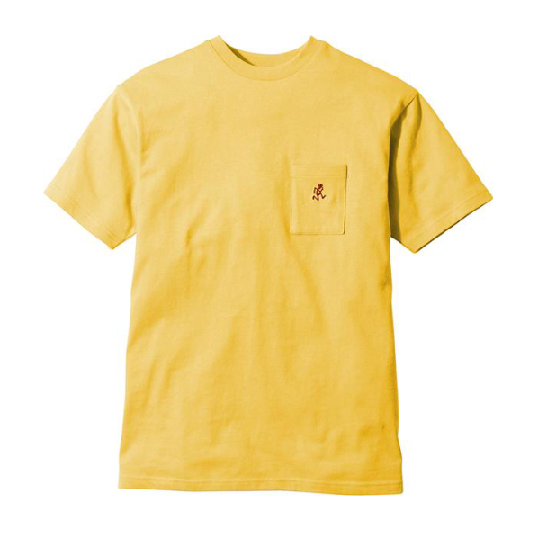 Gramicci One Point T-Shirt Yellow