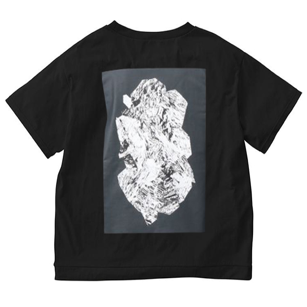 Gramicci Sheltech Rock Print T-Shirt Black