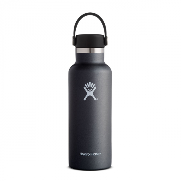 Hydro Flask 18oz Standard Mouth Bottle Black