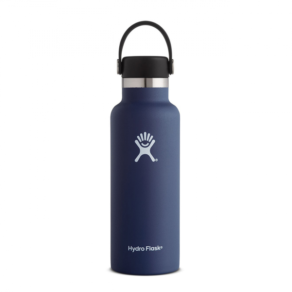 Hydro Flask 18oz Standard Mouth Bottle Cobalt
