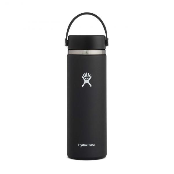 Hydro Flask 20oz Wide Mouth Bottle Black