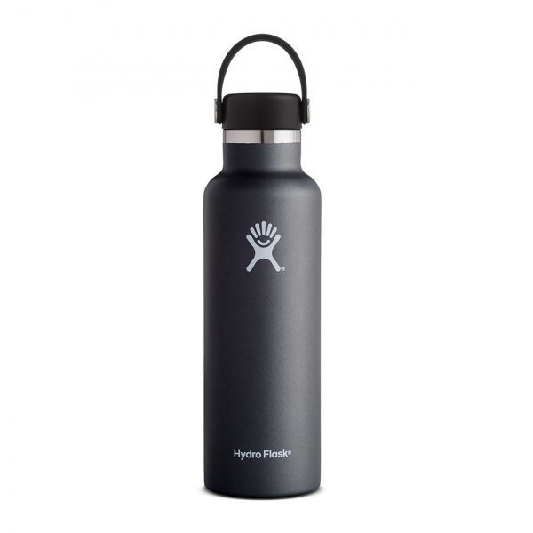 Hydro Flask 21oz Standard Mouth Bottle Black