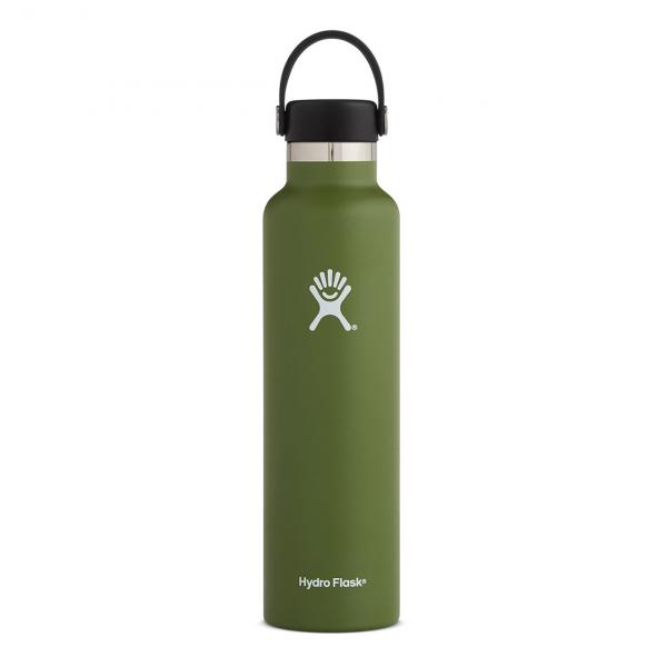 Hydro Flask 24oz Standard Mouth Bottle Olive