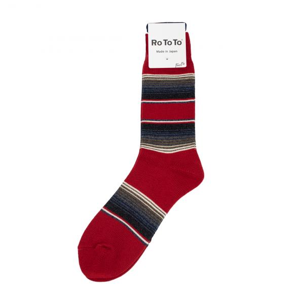 RoToTo Baja Cali Socks Red