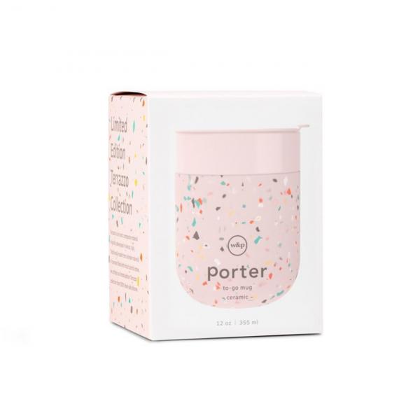 W&P Design Porter Mug Terrazzo Blush