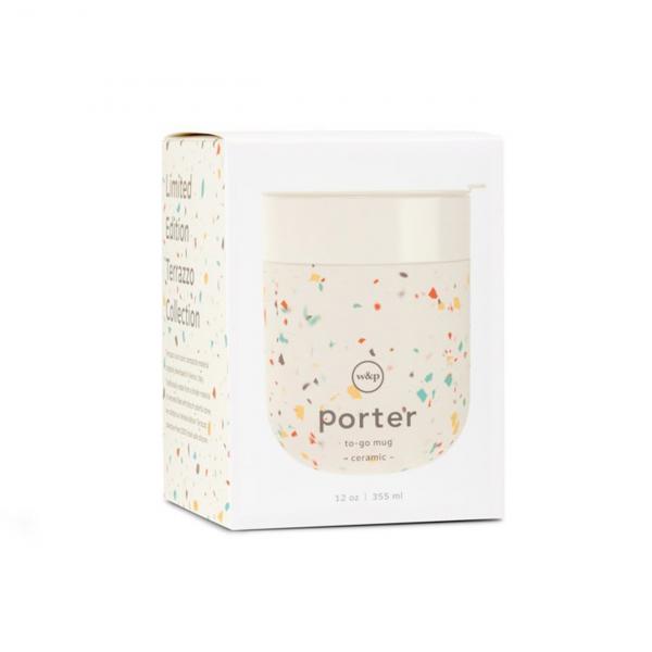 W&P Design Porter Mug Terrazzo Cream