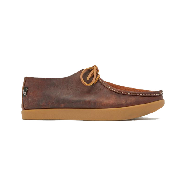 Yogi Willard Reverse Vamp Shoe Mid Brown