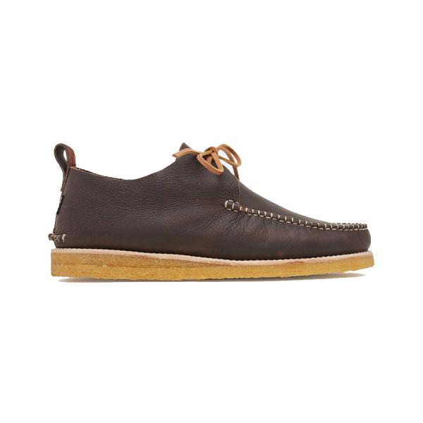 Yogi Lawson Leather Crepe Dark Brown