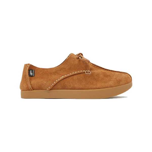 Yogi Lennon Hairy Suede Lace Up Sand Brown