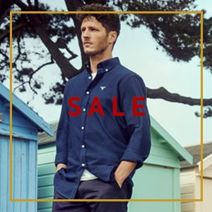 Man Wearing Summer Barbour Shirt - The Sporting Lodge Sale