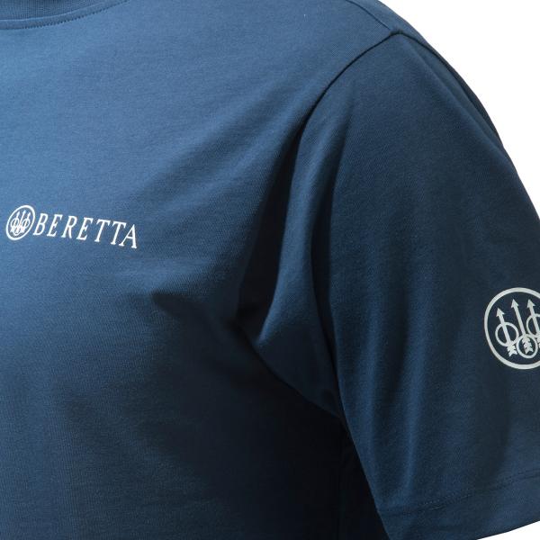 Beretta Diskgraphic T-Shirt Navy