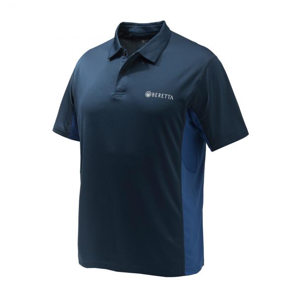 Beretta Flash Tech Polo Shirt Navy