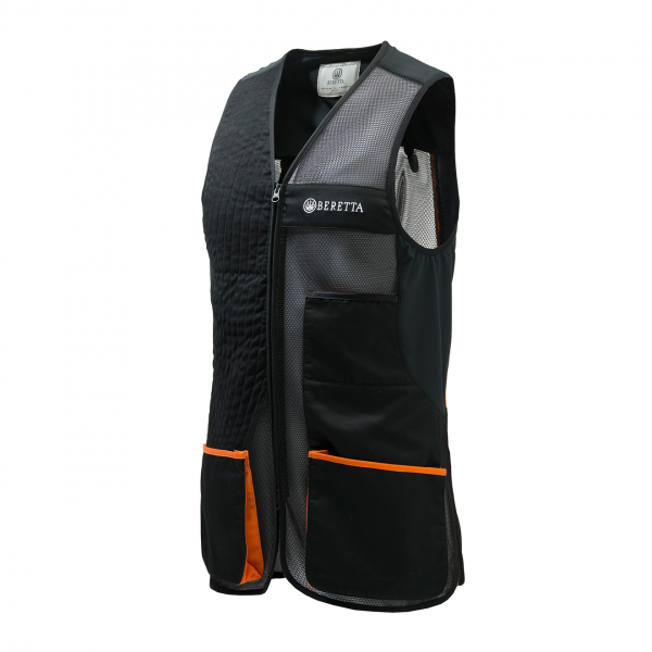 Beretta Olympic Vest 3.0 Black / Orange Check
