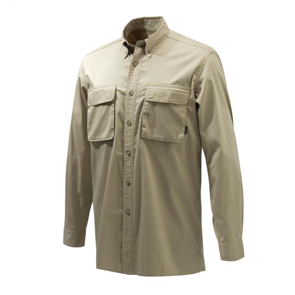 Beretta Selous Sport Shirt Hazelnut