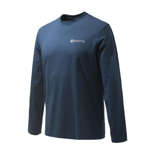 Beretta Team L/S T-Shirt Navy