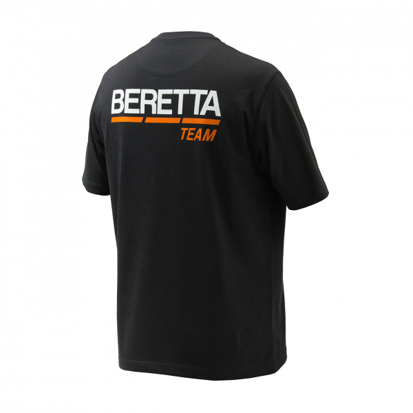 Beretta Team S/S T-Shirt Black