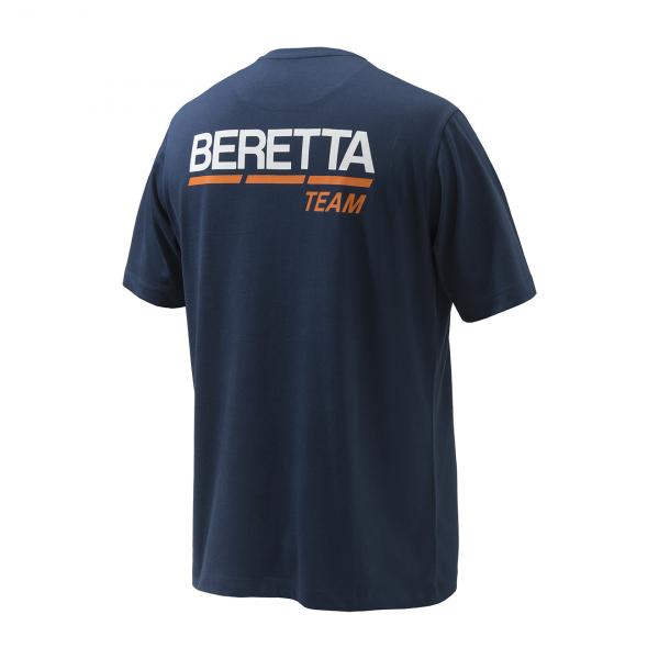 Beretta Team S/S T-Shirt Navy