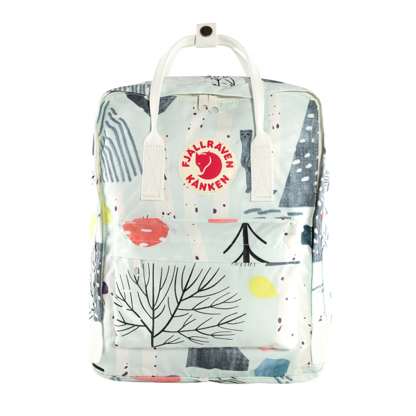 Fjallraven Kanken Art Classic Backpack Birch Forest